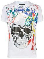 Philipp Plein Paint Splatter T-shirt