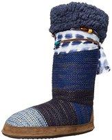 Muk Luks Women's Jordan Slipper Indigo Slouch Boot