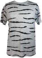 Zoe Karssen zebra All Over Heather Grey T-shirt