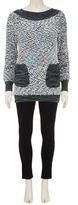 Dorothy Perkins Navy bobble knit pocket jumper