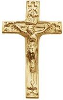 JE Yellow-gold Crucifix Lapel Pin