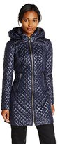 Via Spiga Women's Lightweight Quilted Jacket with Hood