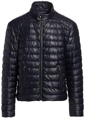 Ralph Lauren Purple Label Lawton Quilted Leather Jacket