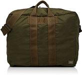Porter Men's Flex Tuckaway Duffel Bag-Dark Green
