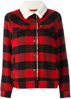 Levi's checked jacket - women - Polyester/Wool - L
