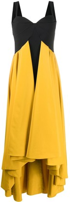 Baghera colour-block gown