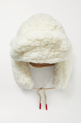 Cordova Eyak Wool-blend Faux Shearling Hat - Neutral