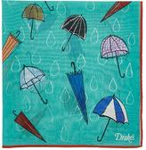 Drakes Drake's Men's Umbrella-Print Pocket Square