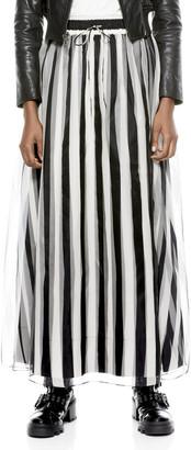 Alice + Olivia Dixie Stripe Maxi Skirt
