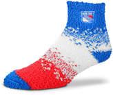 For Bare Feet New York Rangers Marquee Sleep Soft Socks