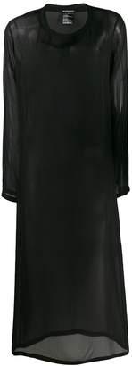 Ann Demeulemeester sheer T-shirt dress