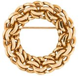 Tiffany & Co. 14K Circle Brooch