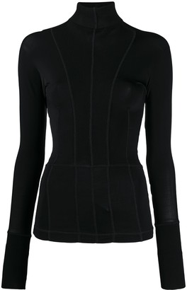 Gianfranco Ferré Pre-Owned 1990s Topstitching Blouse