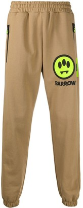 Barrow Embroidered Patch Track Pants