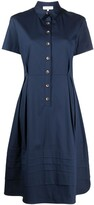 Thumbnail for your product : Antonelli Nancy button-up flared dress