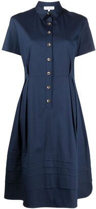 Antonelli Nancy button-up flared dress