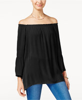 Say What ? Juniors' Off-The-Shoulder Blouse