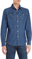 G Star Denim Flap Pocket Shirt