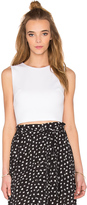 Eight Sixty Ponte Crop Top
