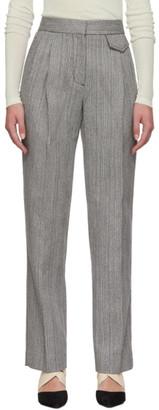 3.1 Phillip Lim Grey Merino Series Tweed Trousers