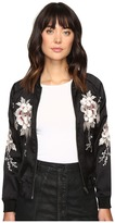 Lucky Brand Bird Bomber Jacket Women's Coat