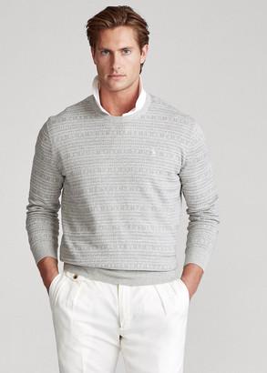 Ralph Lauren Fair Isle Cotton Sweater