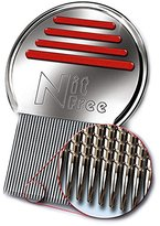 LiceLogic Terminator Nit and Lice Comb, Reusable Stainless Steel Design