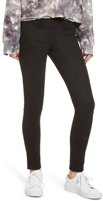 Splendid Faux Suede Leggings