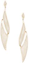 Maiyet 18K Yellow Gold & Enamel Amazon Journey Earrings