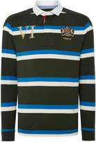 Howick Decker Printed Stripe Long Sleeve Rugby Shirt