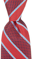 Daniel Cremieux Mixed Stripe Traditional Silk Tie