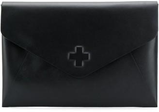 A.F.Vandevorst Stamped Envelope Clutch