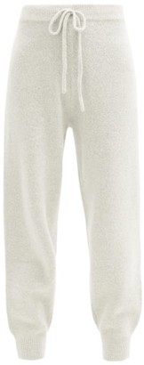 JoosTricot High-rise Wool-blend Track Pants - Grey