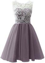 CaliaDress Women Short Bridesmaid Homecoming Flower Girl Dress C016WD 5Y