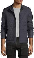 Belstaff Bramley Quilted Zip-Front Jacket