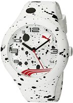 Puma Unisex PU103211020 Form XL Analog Display Quartz White Watch