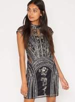 Miss Selfridge Petite embellished shift dress