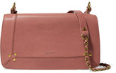 Jerome Dreyfuss Bobi Textured-leather Shoulder Bag - Pink