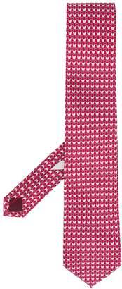 Salvatore Ferragamo butterfly print tie