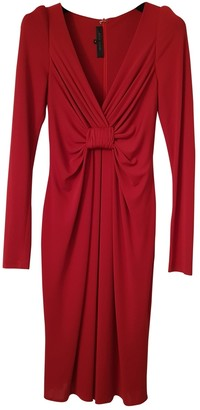 Elie Saab Red Dress for Women