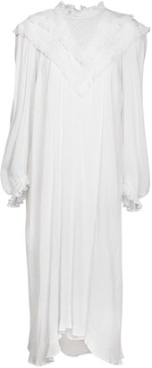 Etoile Isabel Marant Ibenia Lace Cotton & Viscose Midi Dress