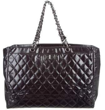 Chanel Diamond Shine Reissue Tote