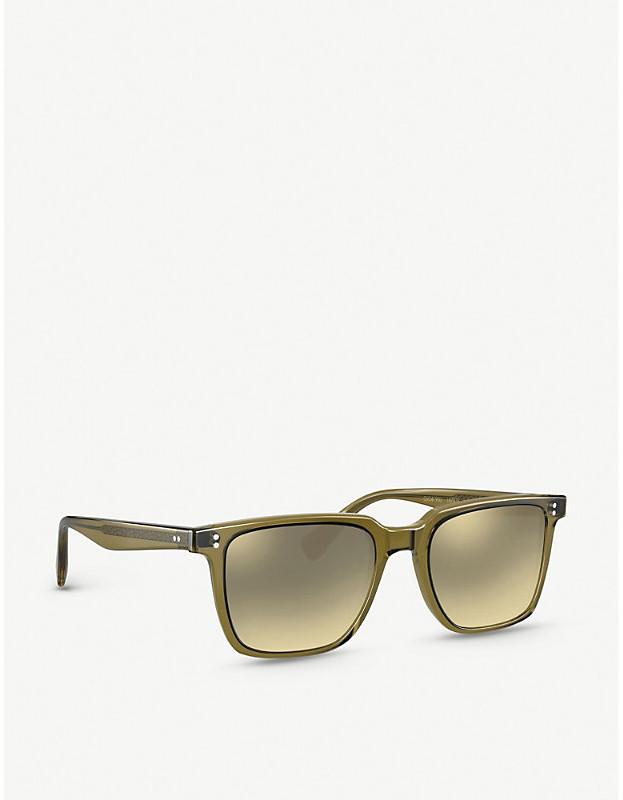 Thumbnail for your product : Oliver Peoples OV5419SU Lachman Sun acetate glass square-frame sunglasses