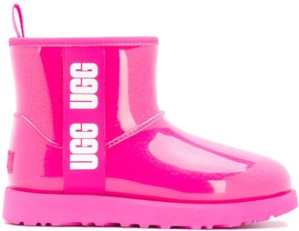 UGG Laminated Logo Tape Snow Boots