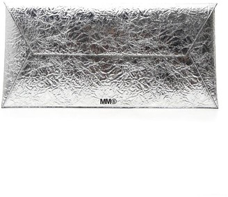 MM6 MAISON MARGIELA Large Metallic Clutch