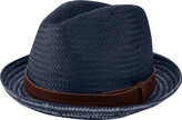 Ben Sherman Men's Plaited Brim Trilby