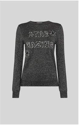 Whistles Star Gazing Sparkle Sweater