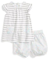 Nordstrom Infant Girl's Stripe Tunic & Shorts Set