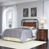 Asstd National Brand Mulhouse Headboard and Nightstand