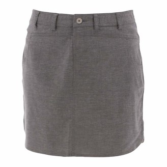 Aventura Clothing Women's Lakota SkirtCharcoal 6